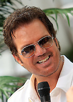 "Cuban singer Willy Chirino attends the second anniversary of the ""Despierta America"" Univision show at the Fontainebleau hotel in Miami Beach on May 22, 2009."