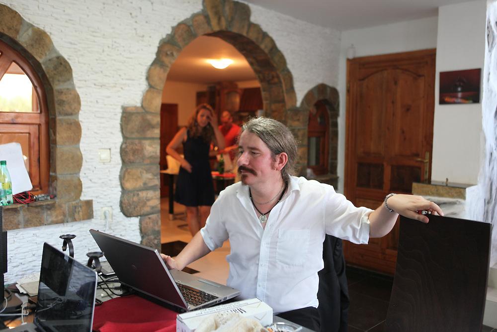 Niklas Nikolajsen at the LSA house