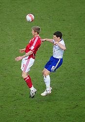 Bristol City's Jon Stead battles for the high ball with Cardiff City's Mark Hudson - Joe Meredith/JMP - 10/03/12 - SPORT - FOOTBALL -  Championship -  Ashton Gate - Bristol, England - Bristol City v Cardiff City