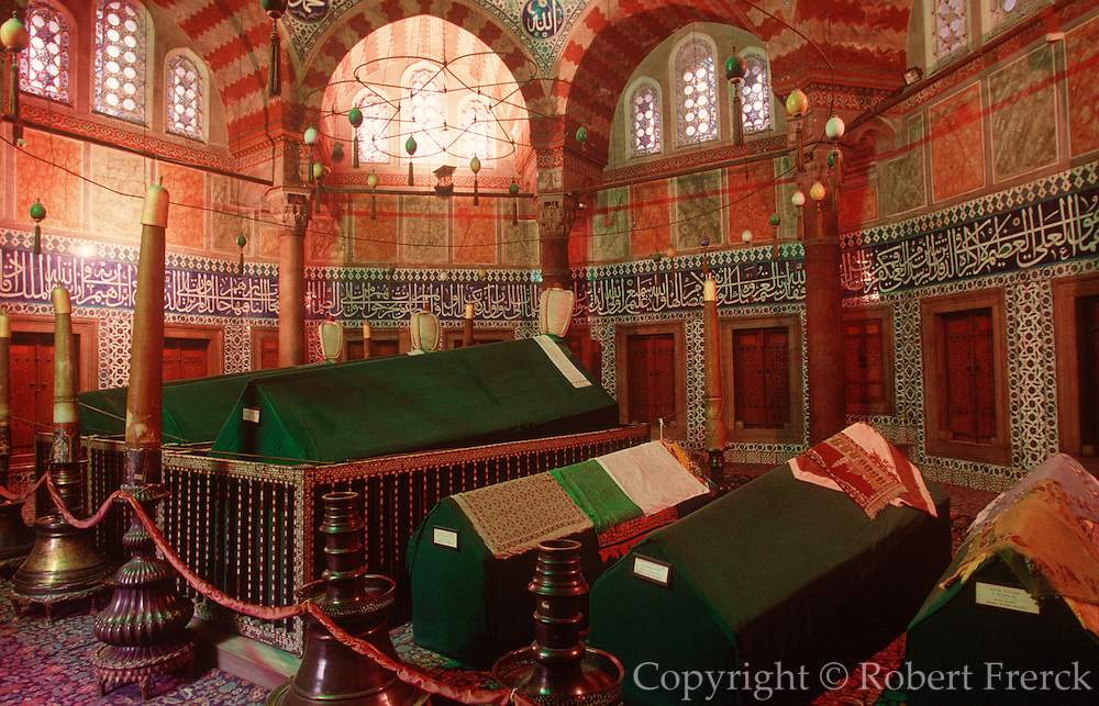 TURKEY, ISTANBUL, OTTOMAN Suleyman I, the Magnificent, tomb
