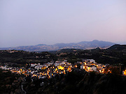 BASILICATA, view of Tursi from Rabatana