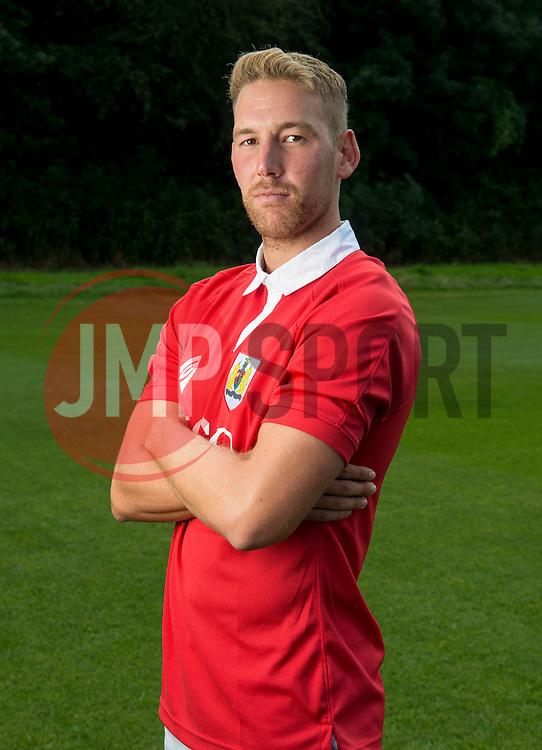 Bristol City's Scott Wagstaff  - Photo mandatory by-line: Joe Meredith/JMP - Mobile: 07966 386802 05/08/2014 - SPORT - FOOTBALL - Bristol - Ashton Gate - Press Day