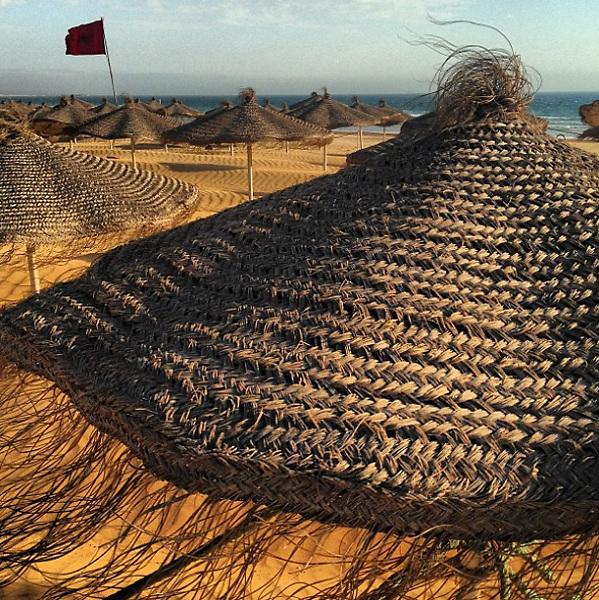 May 2015, Morocco: Agadir Beach.