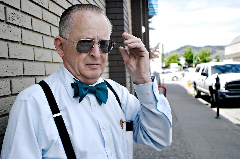 KELOWNA, BC- 01/06/11 - A man and his bow tie.  Photo by Daniel Hayduk