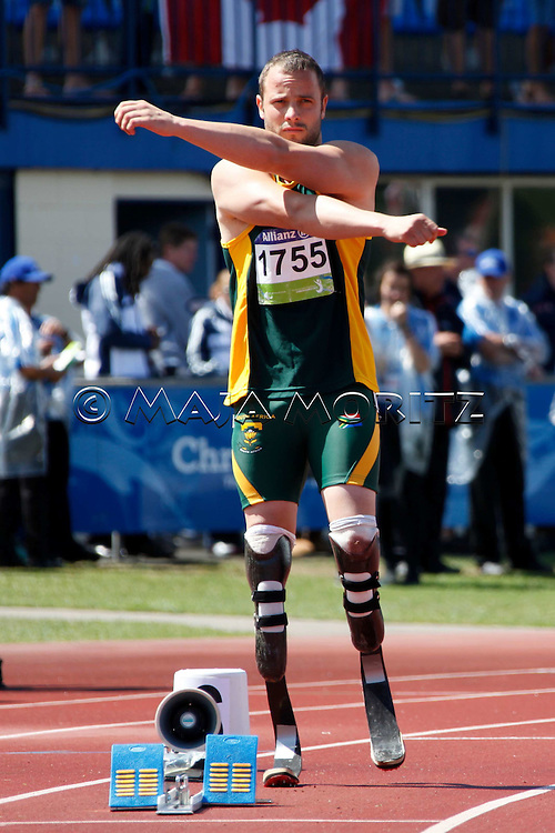 Double Amputee Oscar Pistorius has been included in South Africa's 4x400m relay team for the 2012 Olympic Games in London and has also been granted entry to run the men's 400m race, Pistorius will become the first man ever to compete in both Summer and Paralympic games
