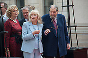 SUSAN HAMPSHIRE; EDDIE KULUKUNDIS, Celebration of the Arts. Royal Academy. Piccadilly. London. 23 May 2012.