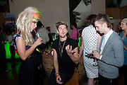 JODIE HARSH; HENRY HOLLAND; DAN HASBY-OLIVER, On The Couch: Tales Of Couchsurfing A Continent., Fleur Britten, book launch party Andaz London, 40 Liverpool Street, London EC2, 7-10pm