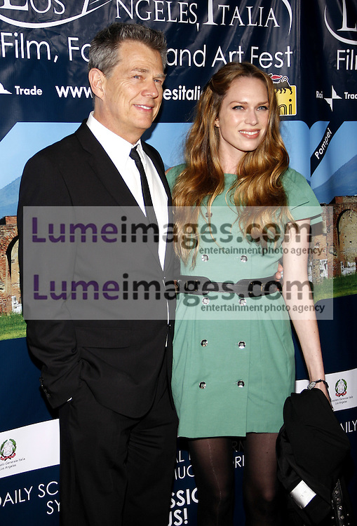 HOLLYWOOD, CA - MARCH 01, 2010: David Foster and Erin Foster at the Los Angeles premiere of 'Andrea Bocelli The Story Behind the Voice' held at the Grauman's Chinese Theater in Hollywood, USA on March 1, 2010.