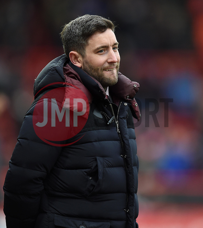 Lee Johnson head coach of Bristol City looks on - Mandatory by-line: Paul Knight/JMP - Mobile: 07966 386802 - 19/03/2016 -  FOOTBALL - Ashton Gate Stadium - Bristol, England -  Bristol City v Bolton Wanderers - Sky Bet Championship