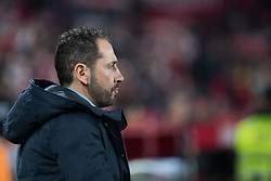 January 16, 2019 - Sevilla, Andalucia, Spain - Pablo Machin, coach of Sevilla FC during the Copa del Rey match between Sevilla FC v Athletic Club at the Ramon Sanchez Pizjuan Stadium on January 16, 2019 in Sevilla, Spain  (Credit Image: © Javier MontañO/Pacific Press via ZUMA Wire)