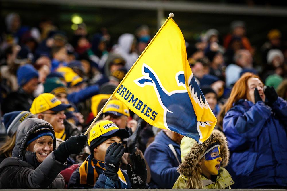 Brumbies supporters