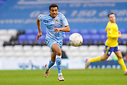 Coventry City defender Sam McCallum (31)   during the The FA Cup match between Coventry City and Birmingham City at the Trillion Trophy Stadium, Birmingham, England on 25 January 2020.