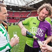 NLD/Amsterdam/20180503- Coen en Sander Live vanuit Johan Cruijff Arena, Sander lantinga en Frank de Boer