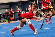 CANTERBURY V TARANAKI<br /> U15 Premier Girls Hockey <br /> Blake Park<br /> Tauranga<br /> 26 September to 3 October 2016<br /> Photo Annette Johnson<br /> CMGSPORT<br /> &copy; www.cmgsport.co.nz