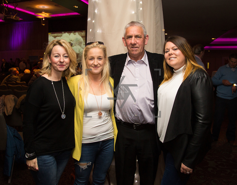 11.10.2016         <br /> Pictured at the Grand Final of the Limerick Going for Gold 2016 Awards were, Siobhan O'Brien, Laura Meaney, Con Corkery and Tara MacDarby, Glenbrook, Glendale and Glendale Lawn Residents Association. Picture: Alan Place