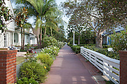 Quaint Newport Beach Residential Neighborhood