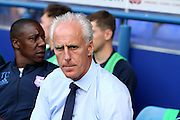 Ipswich manager Mick McCarthy before the EFL Sky Bet Championship match between Ipswich Town and Barnsley at Portman Road, Ipswich, England on 6 August 2016. Photo by Nigel Cole.