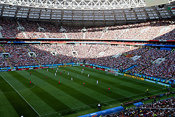 MOSCOW, RUSSIA - Sunday, July 1, 2018: A general view during the FIFA World Cup Russia 2018 Round of 16 match between Spain and Russia at the Luzhniki Stadium. (Pic by David Rawcliffe/Propaganda)