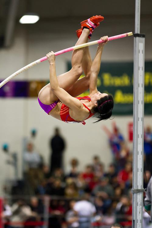 New Balance Indoor Grand Prix track meet: Women's Pole Vault, Jenn Shur
