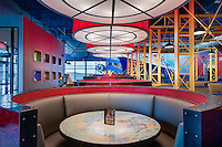 Interior Design Image of Mellow Mushroom Restaurant in Newport News VA by Jeffrey Sauers of Commercial Photographics, Architectural Photo Artistry in Washington DC, Virginia to Florida and PA to New England
