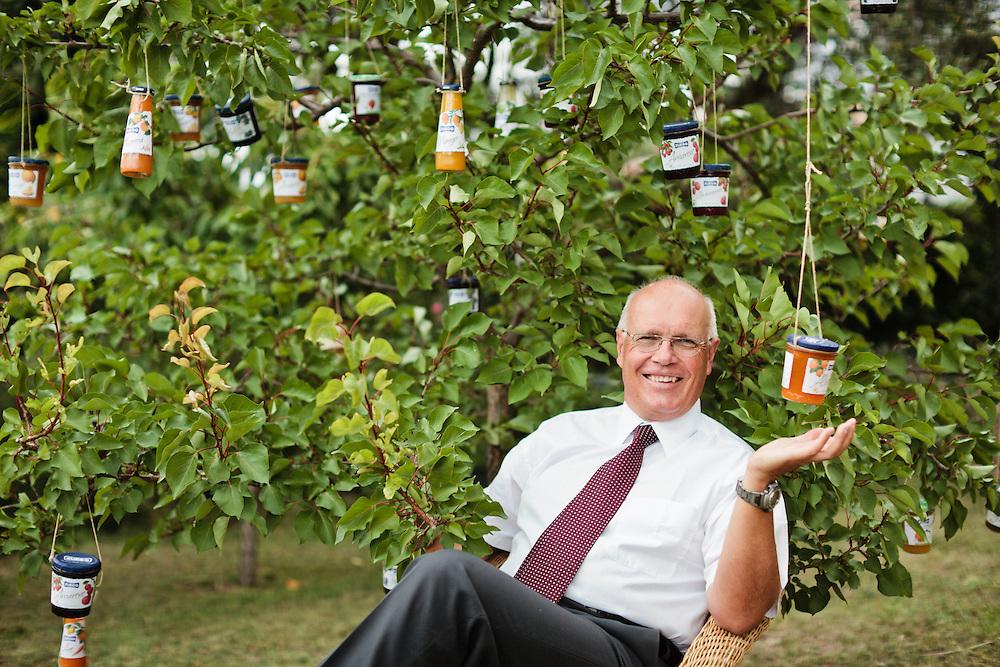 19 JUL 2011 - Bardolino (Verona) - Oswald Zuegg, amm.re delegato della Zuegg confetture