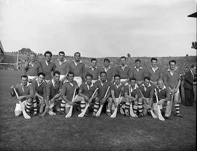 All Ireland Junior Final, London v Antrim.  .London Team..04.10.1959