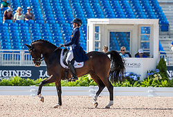 Roos Laurence, BEL, Fil Rouge<br /> World Equestrian Games - Tryon 2018<br /> © Hippo Foto - Dirk Caremans<br /> 14/09/18