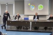 """Gaetano Laguardia<br /> Conferenza Stampa Presentazione Progetto """"Ragazze in Tiro""""<br /> FIP 2018<br /> Milano, 30/03/2018<br /> Foto F. Bertani / Ciamillo - Castoria"""