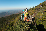 Hiking Camel's Hump. Vermont