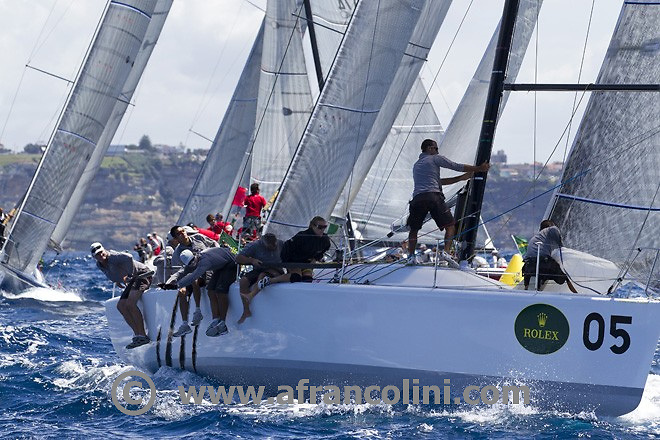 SAILING - Farr 40 Wolrds 2011 - 23-26/02/11 - Day 1, Race 1<br />Ph. Andrea Francolini<br />EASY TIGER II