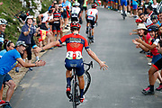Ivan Garcia Cortina (ESP, Bahrain - Merida) during the 73th Edition of the 2018 Tour of Spain, Vuelta Espana 2018, Stage 14 cycling race, Cistierna - Les Praeres Nava 171 km on September 8, 2018 in Spain - Photo Luca Bettini/ BettiniPhoto / ProSportsImages / DPPI