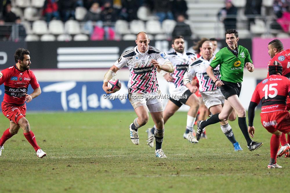 Sergio Parisse - 28.12.2014 - Stade Francais / Racing Club Toulon - 14eme journee de Top 14<br />Photo : Aurelien Meunier / Icon Sport