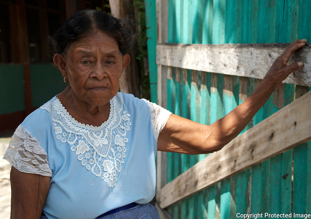 Woman in Uaxactun, Guatemala
