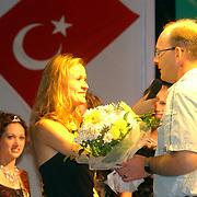 Miss Nederland 2003 reis Turkije, show, jury, Mascha van der Meer