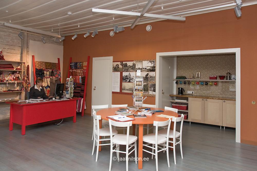 Interior of Kihnu Local Lore Museum, Kihnu Island, Pärnu County, Estonia, Europe