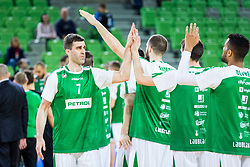 Drazen Bubnic of Petrol Olimpija during basketball match between KK Petrol Olimpija and KK Sixt Primorska in Playoffs of Liga Nova KBM, on March 30, 2018 in Arena Stozice, Ljubljana, Slovenia. Photo by Ziga Zupan / Sportida