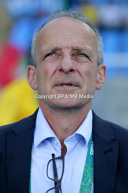 Fifa Men&acute;s Tournament - Olympic Games Rio 2016 - <br /> Algeria National Team -  <br /> SCHUERMANN Pierre-Andre -  DT Algeria