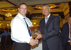 Northants Cricket Dinner, Presentations, Wicksteed Park Friday 15th October 2010, Guest Mike Watkinson