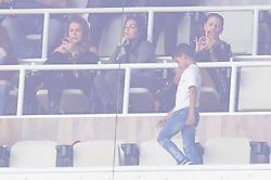 Georgina Rodriguez, Cristiano Ronaldo Jr. watch Cristiano Ronaldo play during the Real Madrid vs FC Barcelona La Liga match at Santiago Bernabeu Stadium on December 23, 2017 in Madrid, Spain. 23 Dec 2017 Pictured: Georgina Rodriguez, Cristiano Ronaldo Jr. Photo credit: Jack G / MEGA TheMegaAgency.com +1 888 505 6342