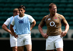 Dylan Hartley of England takes part in training at Twickenham ahead of the upcoming tour of Argentina - Mandatory by-line: Robbie Stephenson/JMP - 02/06/2017 - RUGBY - Twickenham - London, England - England Rugby Training