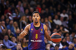 December 8, 2017 - Barcelona, Catalonia, Spain - Phil Pressey during the match between FC Barcelona v Fenerbahce corresponding to the week 11 of the basketball Euroleague, in Barcelona, on December 08, 2017. (Credit Image: © Urbanandsport/NurPhoto via ZUMA Press)