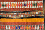 Detail of Hill tribe clothing.