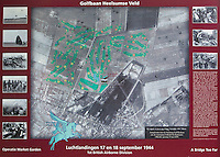HEELSUM - Aandenken aan de luchtlandingen, operatie Market Garden .  , Heelsumse Golf Club. COPYRIGHT KOEN SUYK