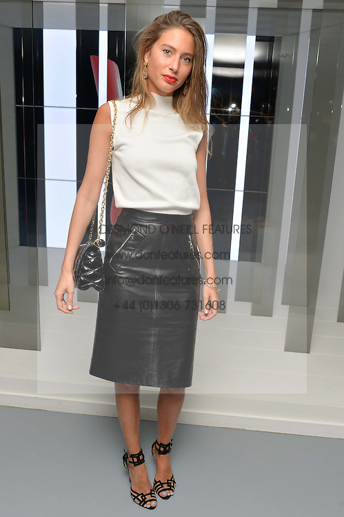 JEMIMA GOLDSMITH at the Louis Vuitton Series 3 VIP Launch held at 180 Strand, London on 20th September 2015.