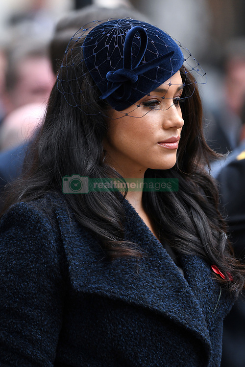 The Duchess of Sussex arriving at The Opening of The Field of Remembrance, Westminster Abbey, London . Photo credit should read: Doug Peters/EMPICS