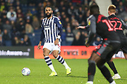 Kyle Bartley plays a pass during the EFL Sky Bet Championship match between West Bromwich Albion and Stoke City at The Hawthorns, West Bromwich, England on 20 January 2020.