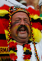 Photo: Glyn Thomas.<br />Germany v Sweden. Second Round, FIFA World Cup 2006. 24/06/2006.<br /> A Germany fan celebrates.