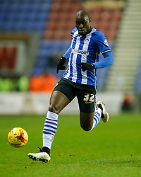 Marc-Antoine Fortune of Wigan in action - Photo mandatory by-line: Rogan Thomson/JMP - 07966 386802 - 30/12/2014 - SPORT - FOOTBALL - Wigan, England - DW Stadium - Wigan Athletic v Sheffield Wednesday - Sky Bet Championship.