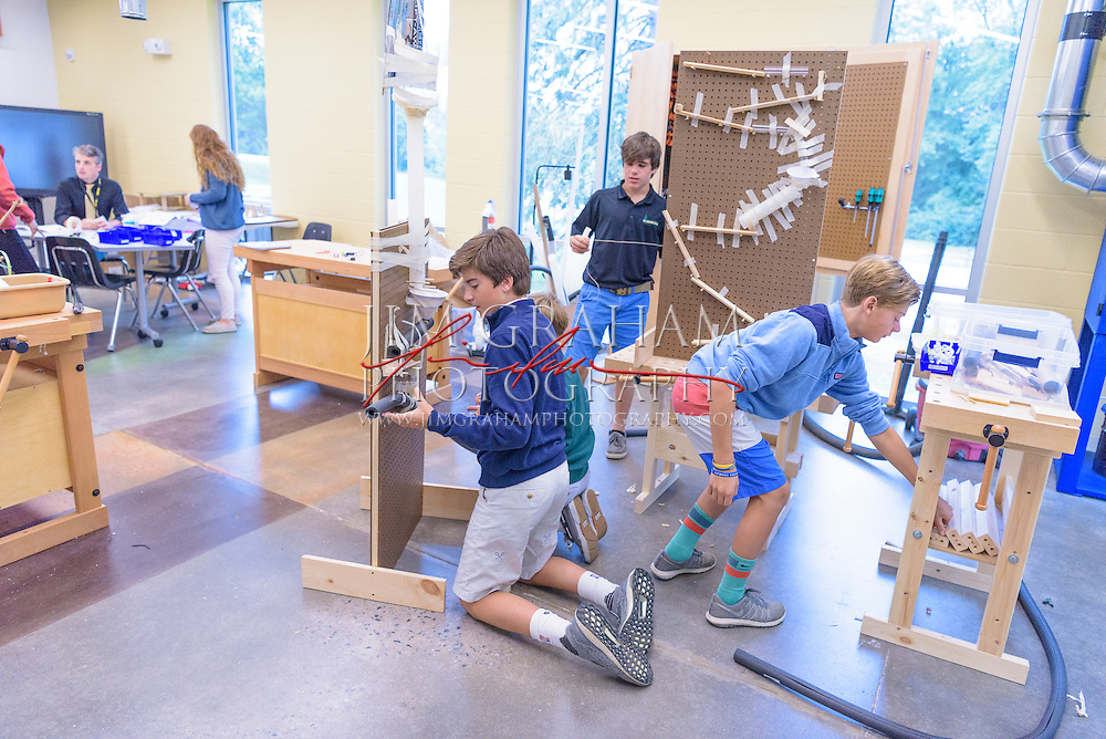 Upland Country Day School's new Kleberg IDEA (Innovation, Discovery, Engineering, and Arts) Center. Photograph by Jim Graham