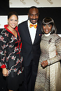 l to r: Soledad O'Brian, Reginal Van Lee, and Cicely L. Tyson at The Official unveiling of the new state of the art Cicely L. Tyson Community School of Performing and Fine Arts on October 24, 2009 in East Orange, New Jersey